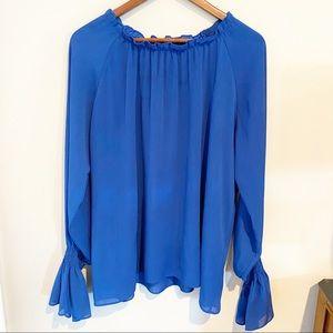 Acevog bell sleeve blouse
